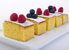 Orange & Almond Cake <span>no added gluten</span>