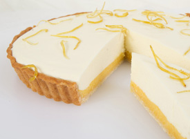 Lemon Curd & Mousse Tart